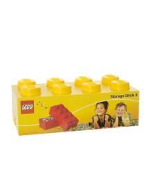 Caixa de Arrumação Amarela - 8 Brick