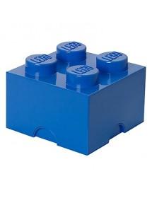 Caixa de Arrumação Azul - 4 Brick