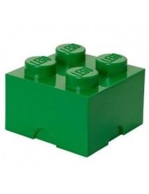 Caixa de Arrumação Verde - 4 Brick