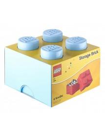 Caixa de Arrumação Azul Clara - 4 Brick