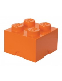 Caixa de Arrumação Laranja - 4 Brick