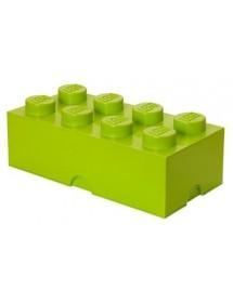 Caixa de Arrumação Verde Clara - 8 Brick