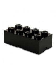 Caixa de Arrumação Preta - 8 Brick