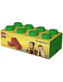 Caixa de Arrumação Verde - 8 Brick