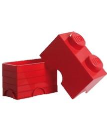 Caixa de Arrumação Vermelha - 2 Brick