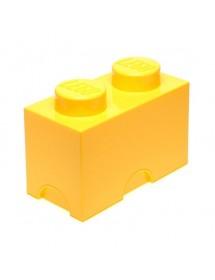 Caixa de Arrumação Amarela - 2 Brick