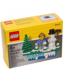 LEGO® Iconic Holiday Magnet
