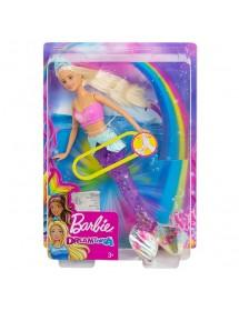 Barbie Sereia Nadadora Arco-Íris