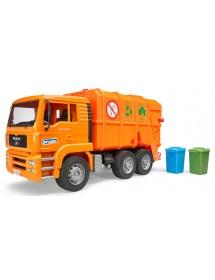 MAN TGA Camião do Lixo - Laranja