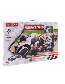 Pista Moto Race Com 2 Motos