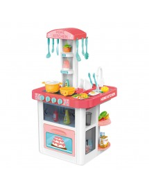 Cozinha Com Luz e Som - 40 Acessórios (82cm)