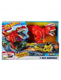 Pista HotWheels - Fúria do T-Rex