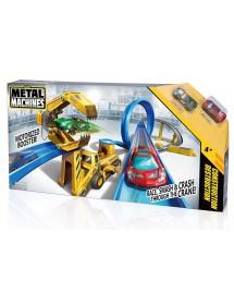 """Pista """"Metal Machines"""" - Construção Destruição"""