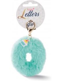 Porta-Chaves Letra O, com Pendente Cupcake