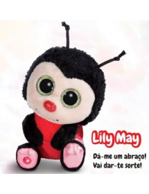 Joaninha Lily May - Peluche 15cm