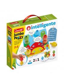 Puzzle de Construção Jumbo Peggy - 20 Peças