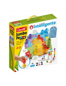 Puzzle de Construção Jumbo Peggy - 45 Peças