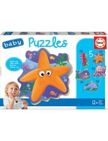 Baby Puzzles - Animais Marinhos