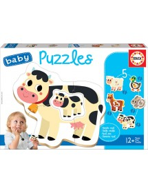 Baby Puzzles - Animais da Quinta