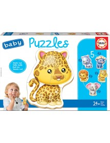 Baby Puzzles - Animais Selvagens