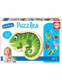 Baby Puzzles - Animais Tropicais