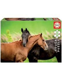 Puzzle 200 Peças - Cavalos