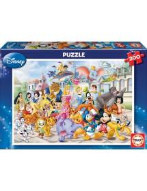 Puzzle 200 Peças - Desfile Disney