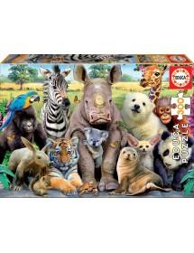 Puzzle 300 Peças - A Foto da Turma