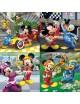 Puzzle 4 em 1 - Mickey e os Super Pilotos