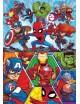 Puzzle Duplo - Marvel