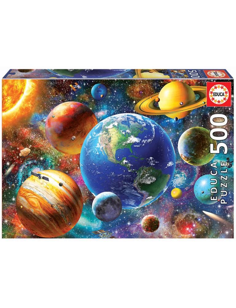 Puzzle 500 Peças - Sistema Solar