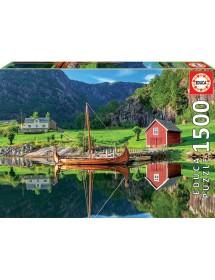 Puzzle 1500 Peças - Barco Viking
