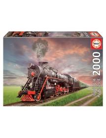 Puzzle 2000 Peças - Locomotiva a Vapor