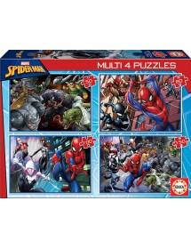 Puzzle 4 em 1 - Spider-Man