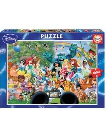 Puzzle 1000 Peças - O Maravilhoso Mundo da Disney
