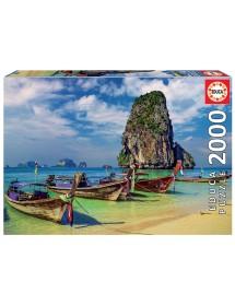 Puzzle 2000 Peças - Krabi Tailândia