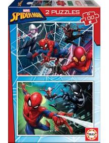 Puzzle Duplo 100 Peças - Spider-Man