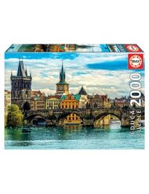 Puzzle 2000 Peças - Vistas de Praga