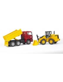 MAN TAG Camião de Construção Com Carregadora articulada FR130