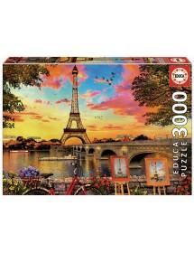 Puzzle 3000 Peças - Pôr do Sol em Paris