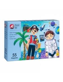 Magnet Box - Super Heróis